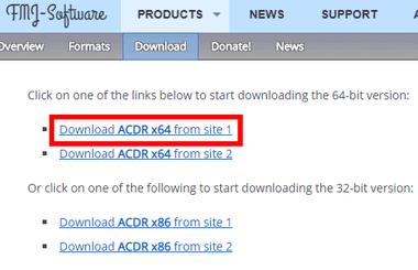 ACDR - Audio CD Reader-001