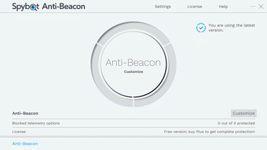Spybot Anti-Beacon free version 036