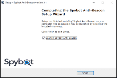 Spybot Anti-Beacon free version 038
