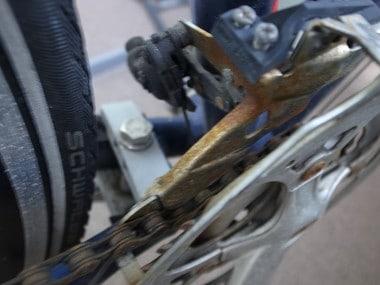 Recycle abandoned bicycle 004