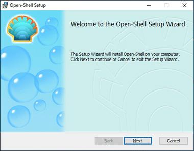 Open Shell / Classic Shell 003