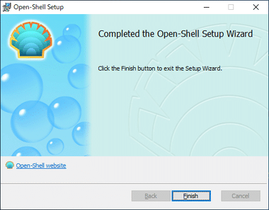 Open Shell / Classic Shell 007