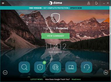 Panda Dome free antivirus 046