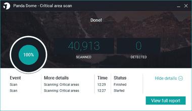 Panda Dome free antivirus 056