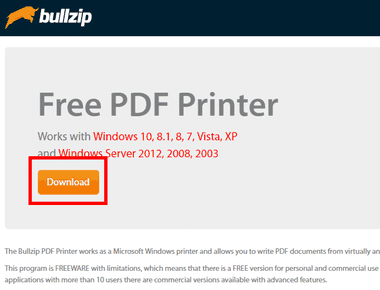Bullzip Free PDF Printer-002