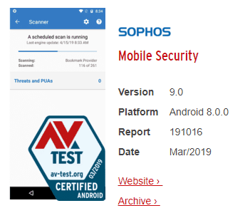 Sophos Intercept X for Mobile 001