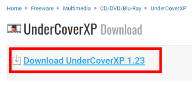 UnderCoverXP - Print CD and DVD Labels -001