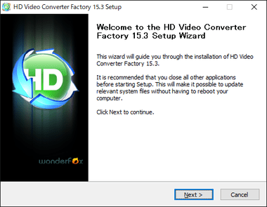 HD Video Converter Factory Free 003