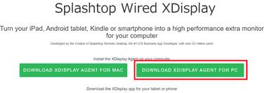 Splashtop Wired XDisplay 002